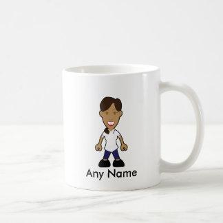 Infirmière féminine bronzée de physiothérapeute mug