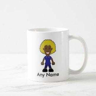 Infirmière féminine de soeur junior blonde noire mug