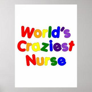 Infirmières humoristiques drôles : L'infirmière la Affiches