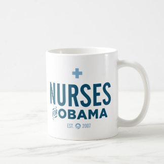Infirmières pour Obama Mug