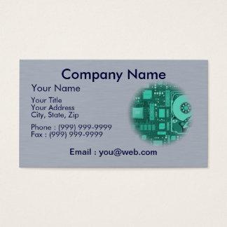 informatique - dépannage - code cartes de visite