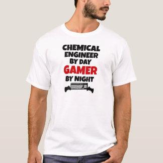 Ingénieur chimiste par le Gamer de jour par nuit T-shirt