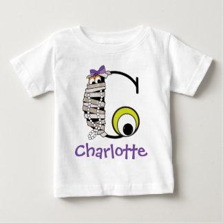 Initiale C de monogramme de maman de la chemise W T-shirt Pour Bébé