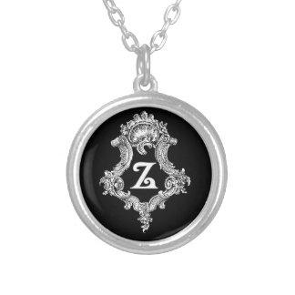 Initiale de monogramme de Z Bijouterie Personnalisée