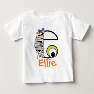 Initiale e de monogramme de maman de la chemise W T-shirt Pour Bébé