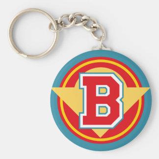 """Initiale faite sur commande de la lettre """"B"""" de Porte-clés"""