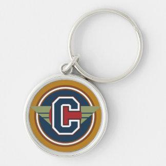 """Initiale faite sur commande de la lettre """"C"""" de Porte-clés"""