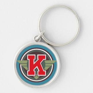 """Initiale faite sur commande de la lettre """"K"""" de Porte-clés"""
