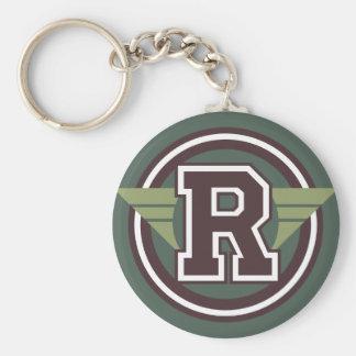 """Initiale faite sur commande de la lettre """"R"""" de Porte-clés"""