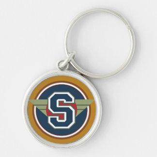 """Initiale faite sur commande de la lettre """"S"""" de Porte-clés"""
