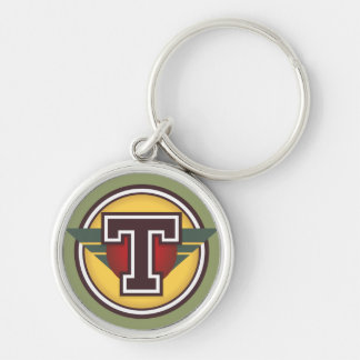 """Initiale faite sur commande de la lettre """"T"""" de Porte-clés"""