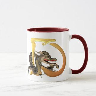 Initiales D de Dragonlore Mug