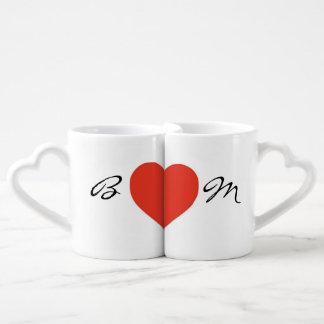 Initiales de couples mug
