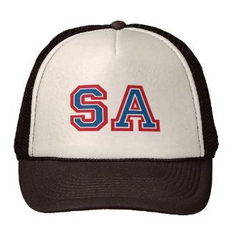 """Initiales """"SA """" de monogramme Casquettes De Camionneur"""