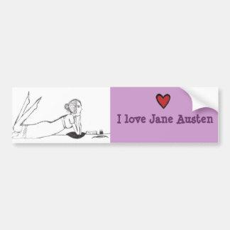 Inscription de Jane Austen Autocollant De Voiture
