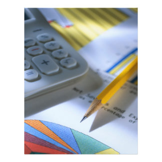 Insecte d'affaires de cabinet comptable prospectus 21,6 cm x 24,94 cm