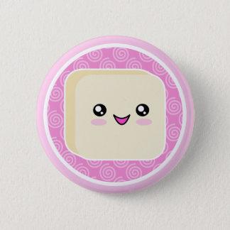 Insigne de bouton de gâteau de Kawaii Mochi Badge Rond 5 Cm