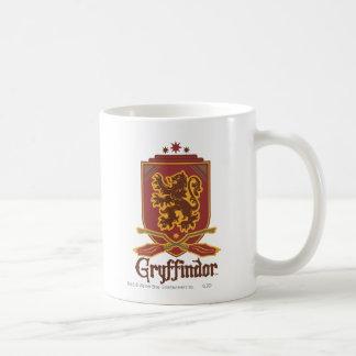 Insigne de Gryffindor Quidditch Mug Blanc