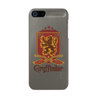 Insigne de Harry Potter   Gryffindor QUIDDITCH™ Coque iPhone 5 Incipio Feather® Shine