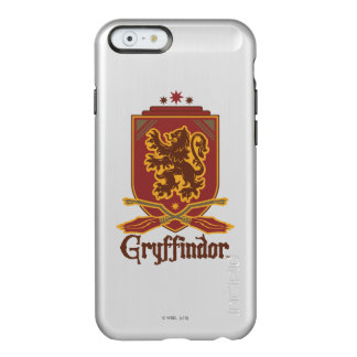 Insigne de Harry Potter   Gryffindor QUIDDITCH™ Coque iPhone 6 Incipio Feather® Shine