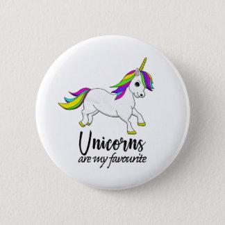 Insigne de licorne d'arc-en-ciel badge rond 5 cm