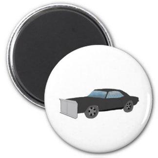 Insigne de voiture de zombi magnet rond 8 cm