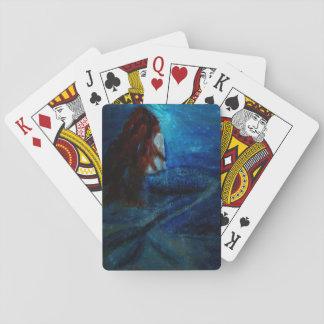 Inspiration de sirène jeu de cartes