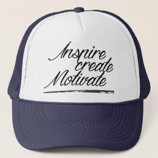 Inspirez, créez, motivez le casquette de