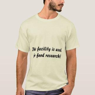 installation de nourriture de T-shirt