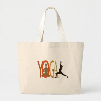 Instructeur sportif de yoga de forme physique grand sac