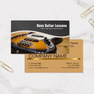 Instructeurs de leçons et de musique de guitare cartes de visite