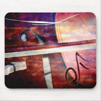 Instrument ficelé tapis de souris