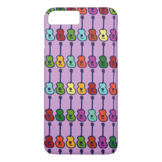 instruments de musique colorés coque iPhone 7 plus
