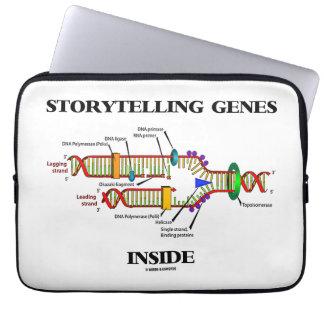 Intérieur de gènes de fabulation (reproduction housses ordinateur
