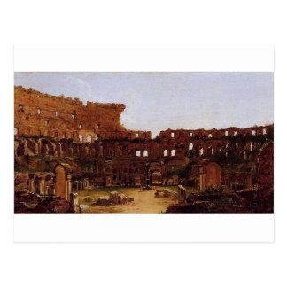 Intérieur du Colosseum, Rome par Thomas Cole Carte Postale