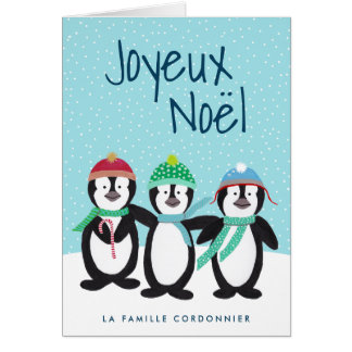 International Carte de Noël Card