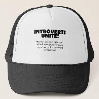 Introverts unissent - la lumière BG Casquette