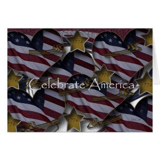 Invitation 1776 de l'Amérique
