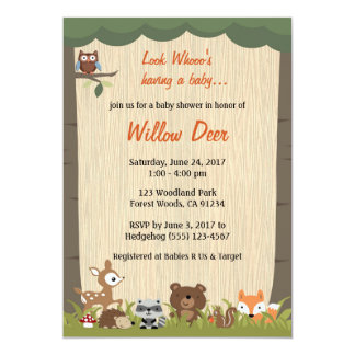 Invitation *boy/girl/surprise* de baby shower de