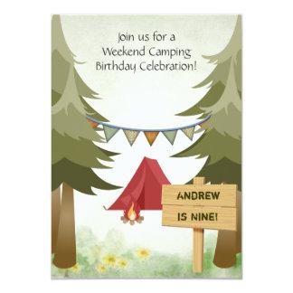 Invitation campante personnalisée de fête