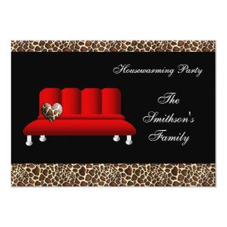 invitation chic de partie de sofa