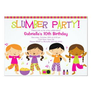 Invitation d'anniversaire d'amusement de soirée