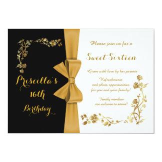 Invitation d'anniversaire de sweet sixteen, 16ème,