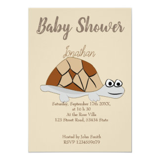 Invitation de baby shower