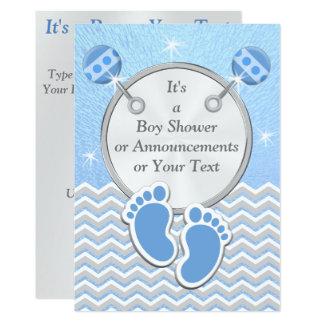 Invitation de baby shower de cartes de faire-part