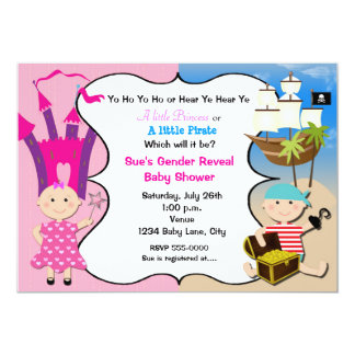 Invitation de baby shower de princesse Babies de