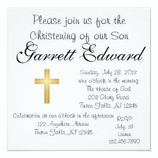 Invitation de baptême