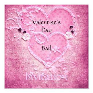 Invitation de boule de Saint-Valentin