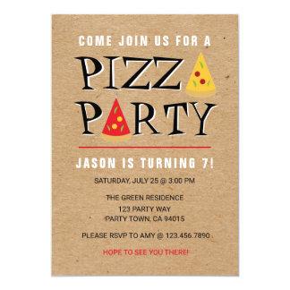 Invitation de célébration d'anniversaire de partie