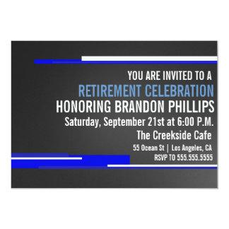 Invitation de célébration de partie de retraite